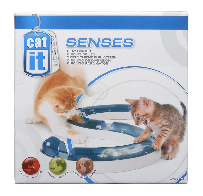 Juego para gatos Catit - Circuito de rodillos | Luladu