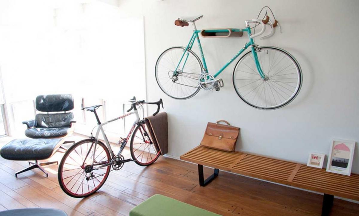 Ideas para aparcar bicicletas en casa originales y prácticas