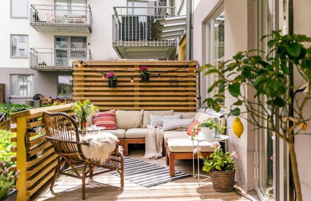10 Ideas para amueblar y tener una terraza de ensueño barata