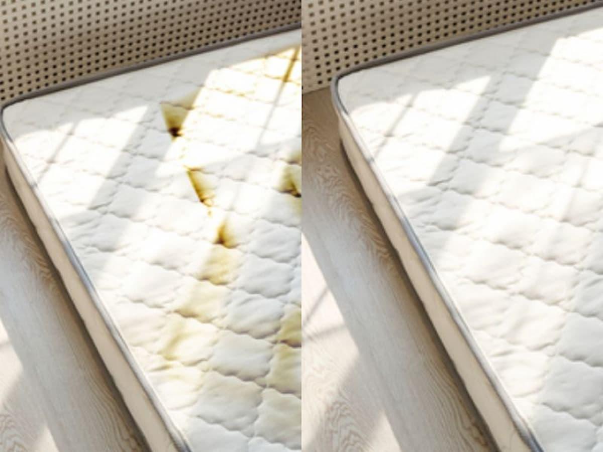 Cómo limpiar y desinfectar un colchón lleno de manchas